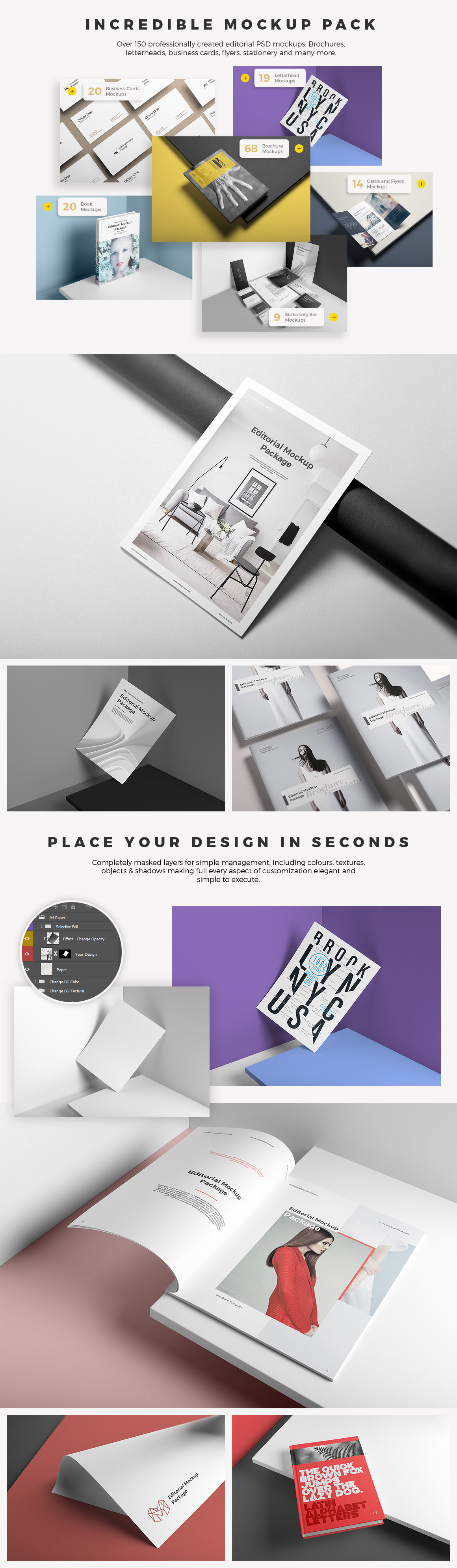 Editorial Mockup Package