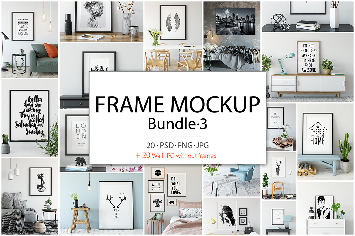 Frame Mockup Collection 3