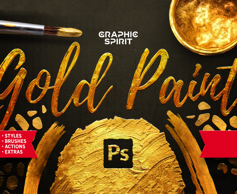 Gold-Paint-Styles,-Effects,-Brushes-&-More!-top