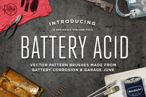 Battery Acid Brush Pack