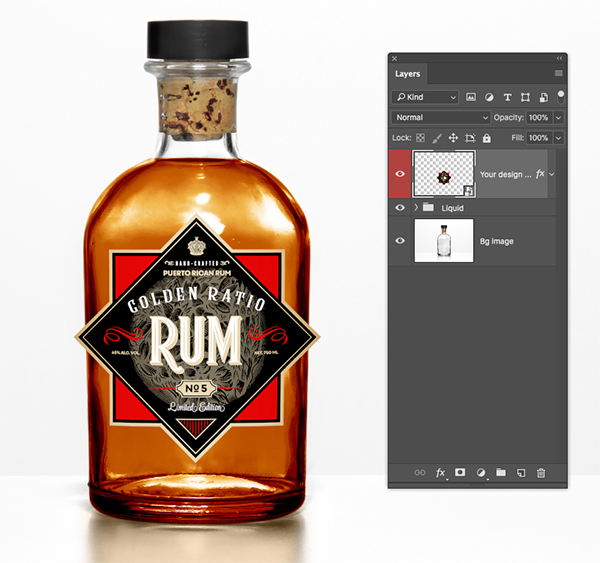 Golden Ratio Rum Design