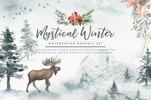 Mystical Winter Elements