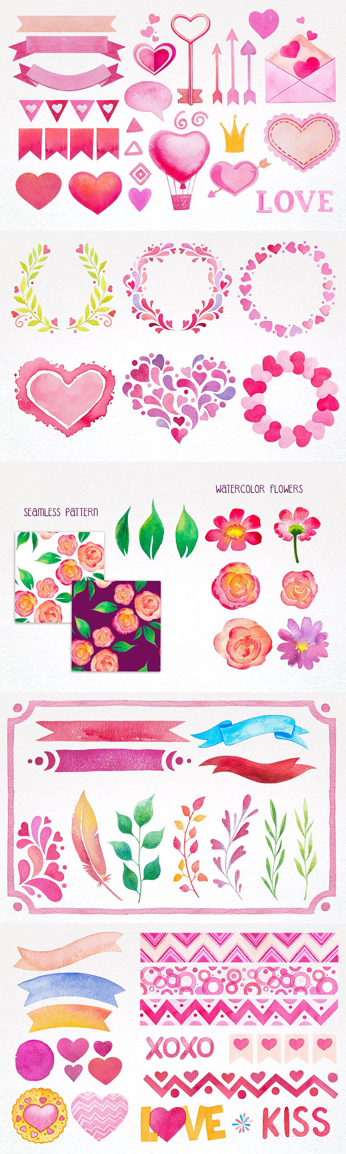 Valentine's Day Design Kit