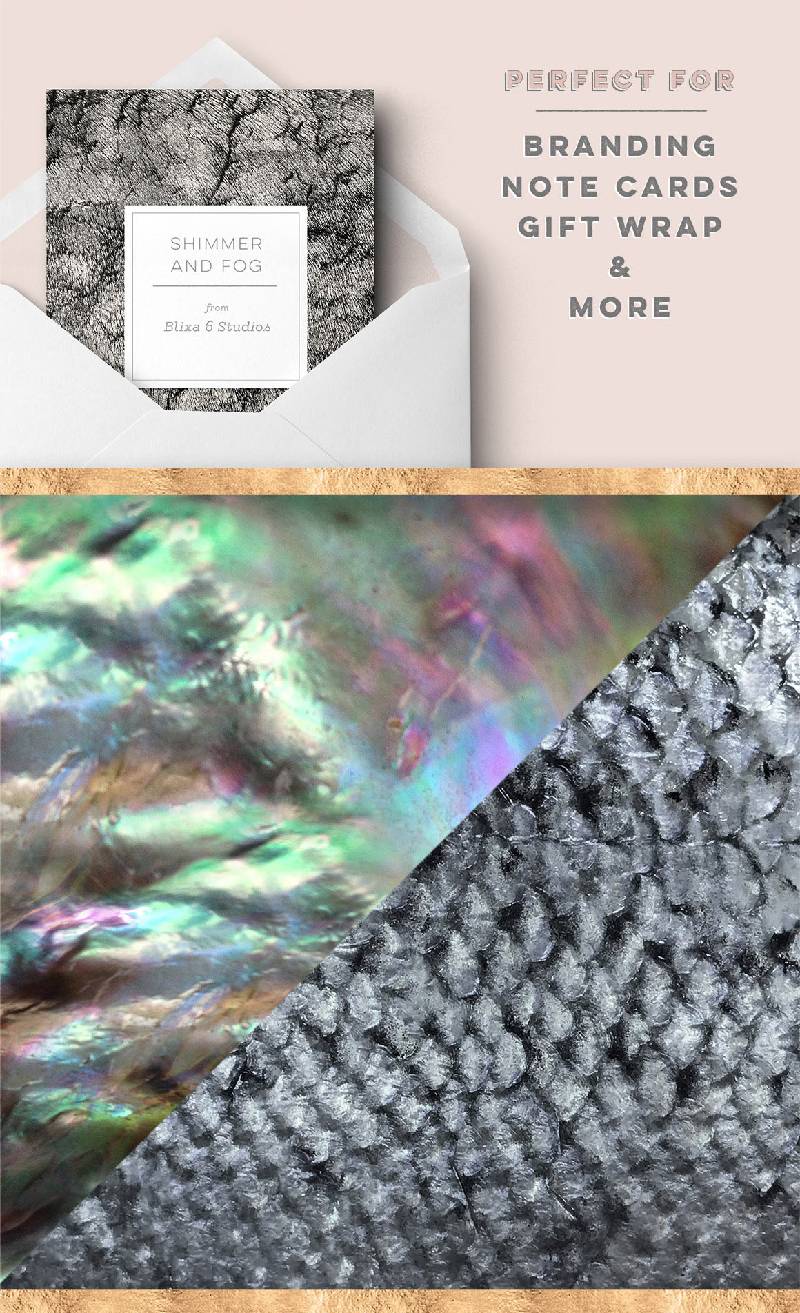 36 Distressed Metallic Textures