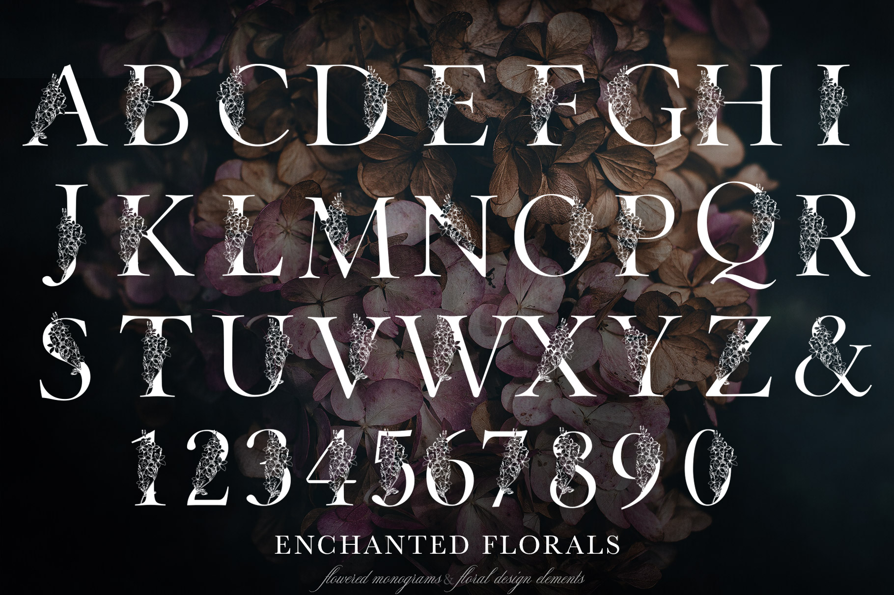 Enchanted Florals Monogram Set