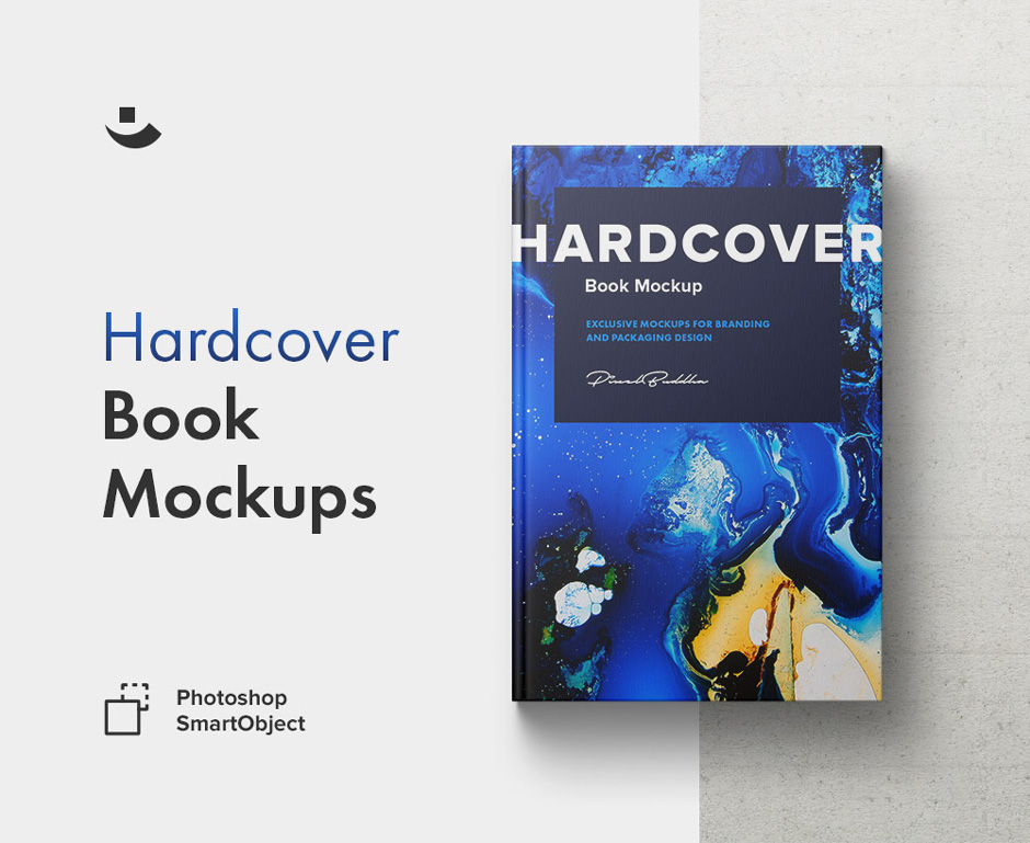 Hardcover Book Mockup Set