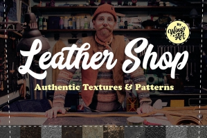 Quick Leather Textures and Seamless Patterns