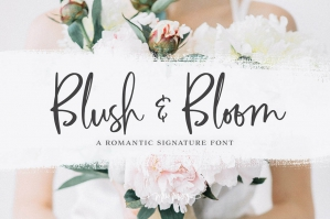 Blush & Bloom Signature Type