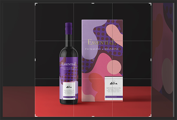 Strawberry Fields Winery Packaging Design