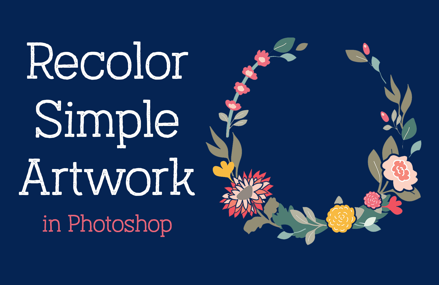 How to Select and Change Colors in Photoshop - YouTube