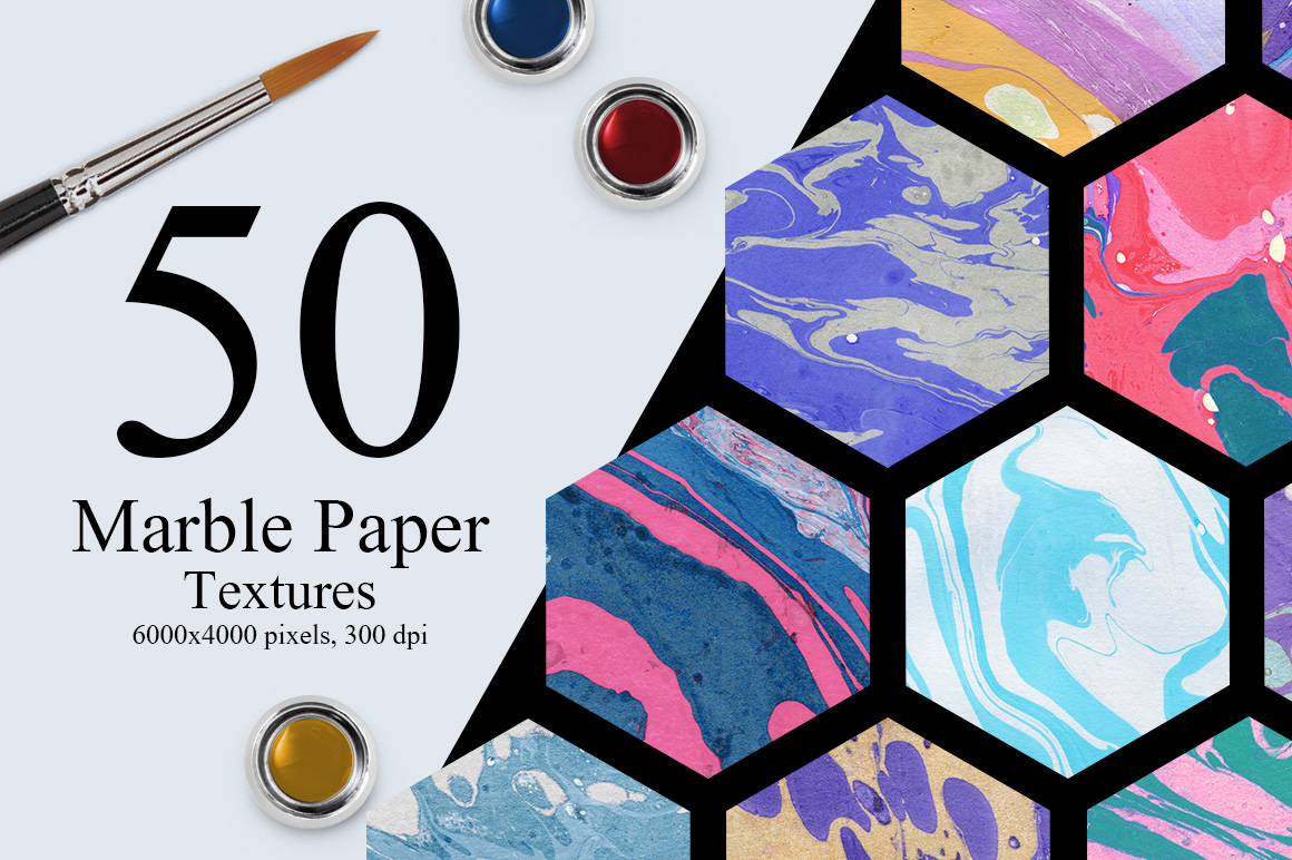50 Marble Paper Textures