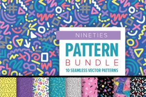 Nineties Pattern Bundle