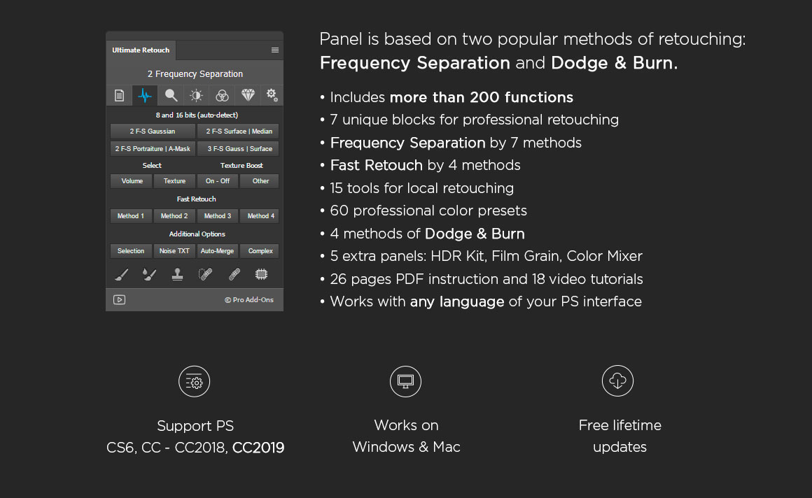 Ultimate retouch panel Download Full Unlocked