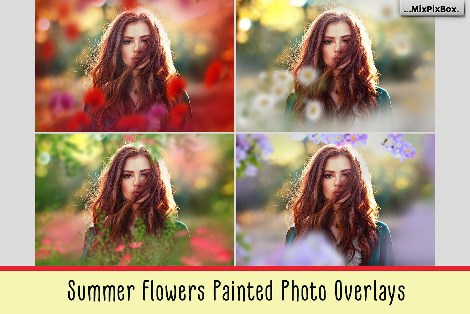 Summer Painted Flowers