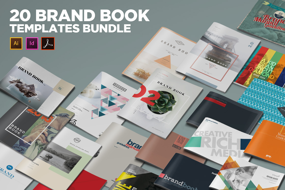Brand Book Templates - Design Cuts
