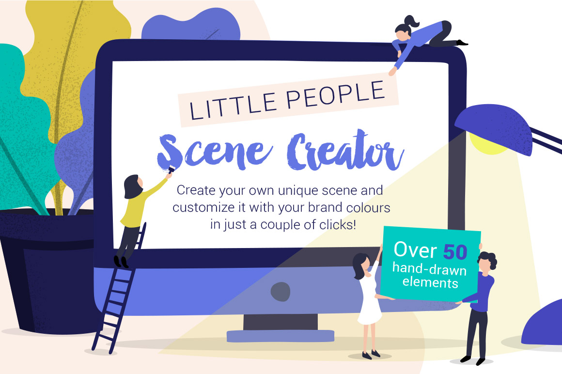 Little People Scene Creator