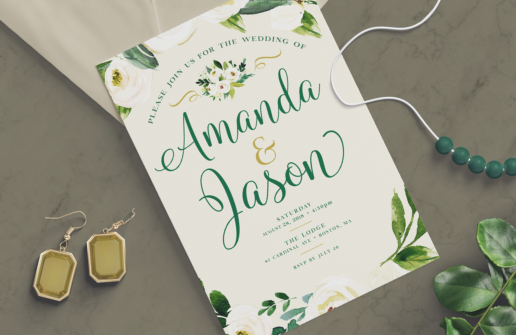 How to create a wedding invitation design in photoshop stopboris Choice Image