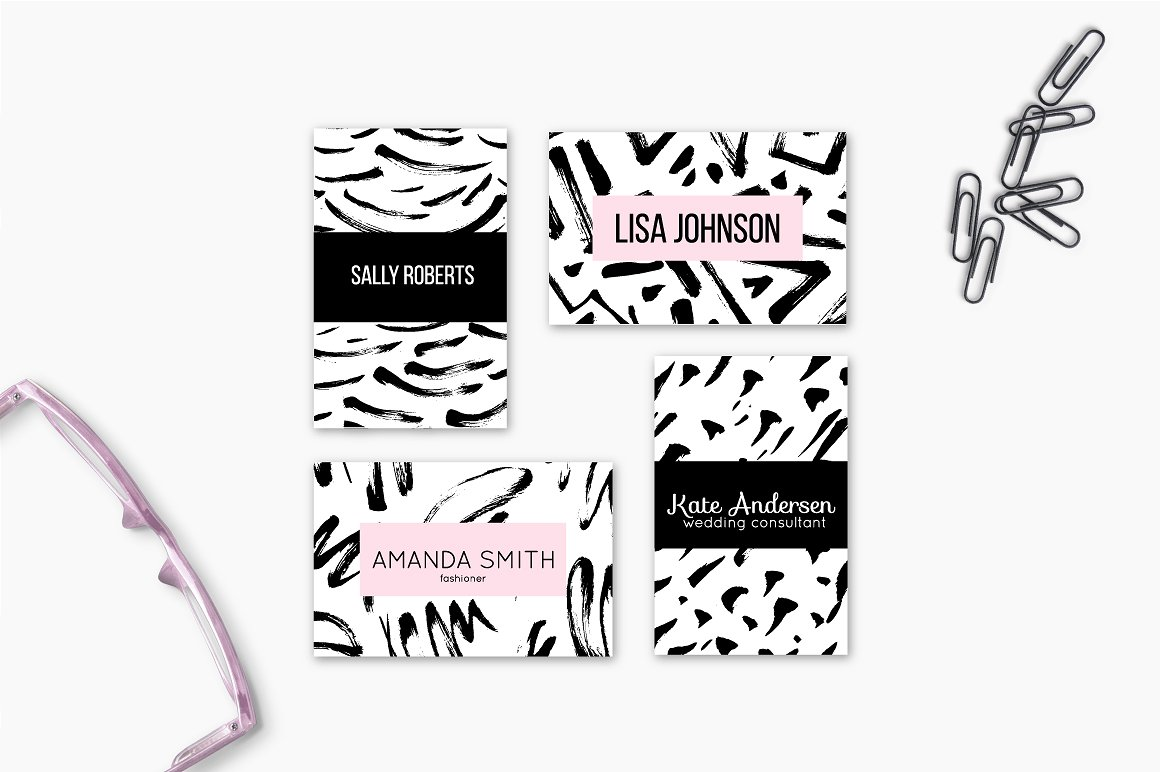 60 Hand Drawn Bold Ink Patterns