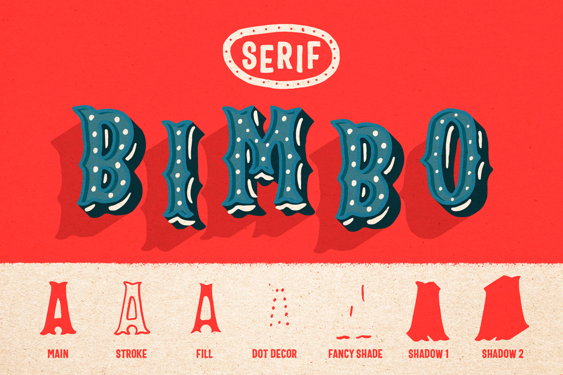 Bimbo – Hand Lettering Collection