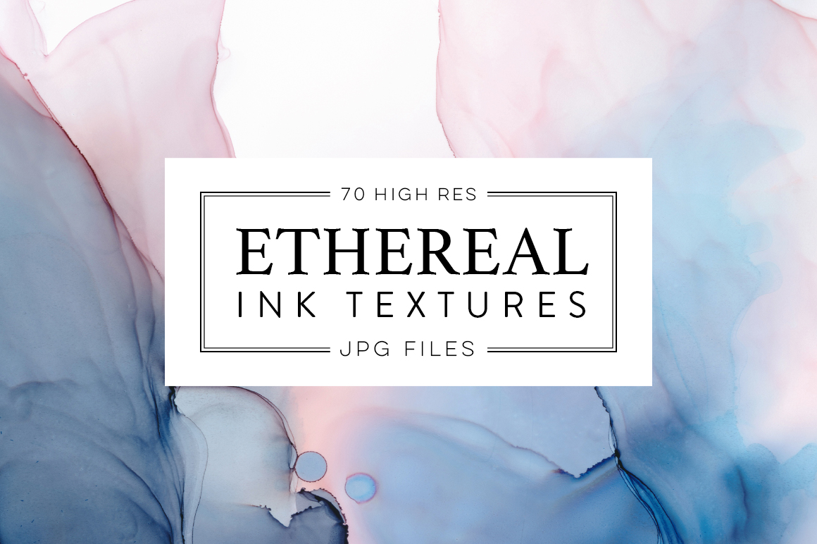 Ethereal Ink Texture Collection