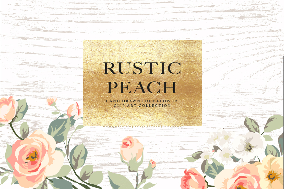 Flower Collection – Rustic Peach