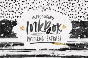 InkBox -240-Seamless-inky-Patterns-and-110-Extras-cover