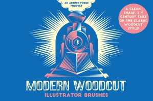 Modern-Woodcut-Brushes-cover