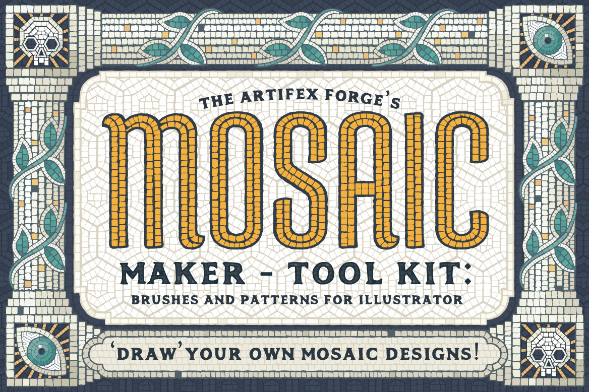 Mosaic Maker – Brushes & Patterns