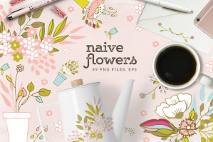 Naive Flowers