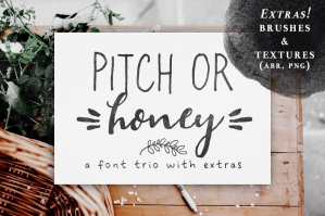 Pitch-Or-Honey-Font-Trio-cover
