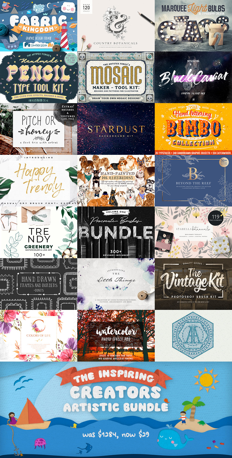 The Inspiring Creator's Artistic Bundle