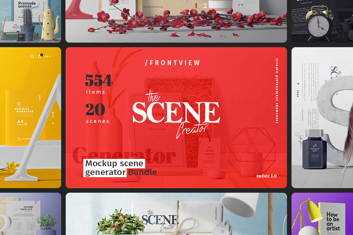 The Scene Creator: Frontview