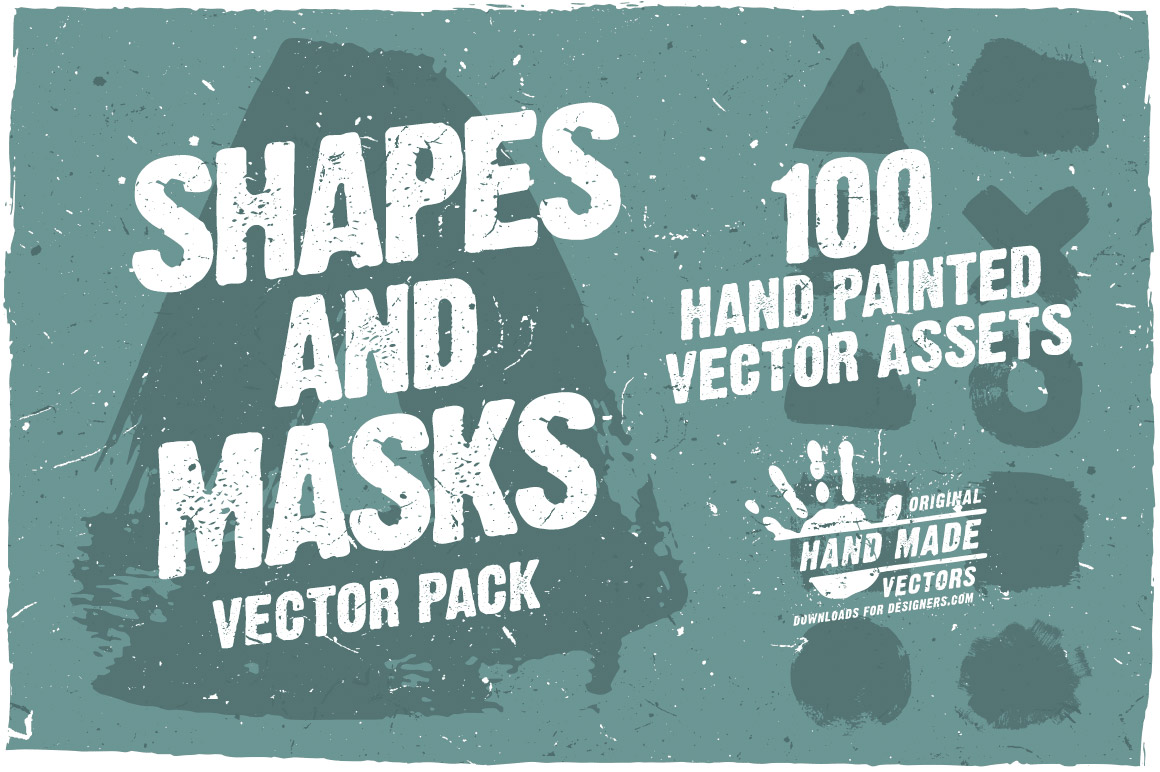 Shapes and Masks - Vector Pack