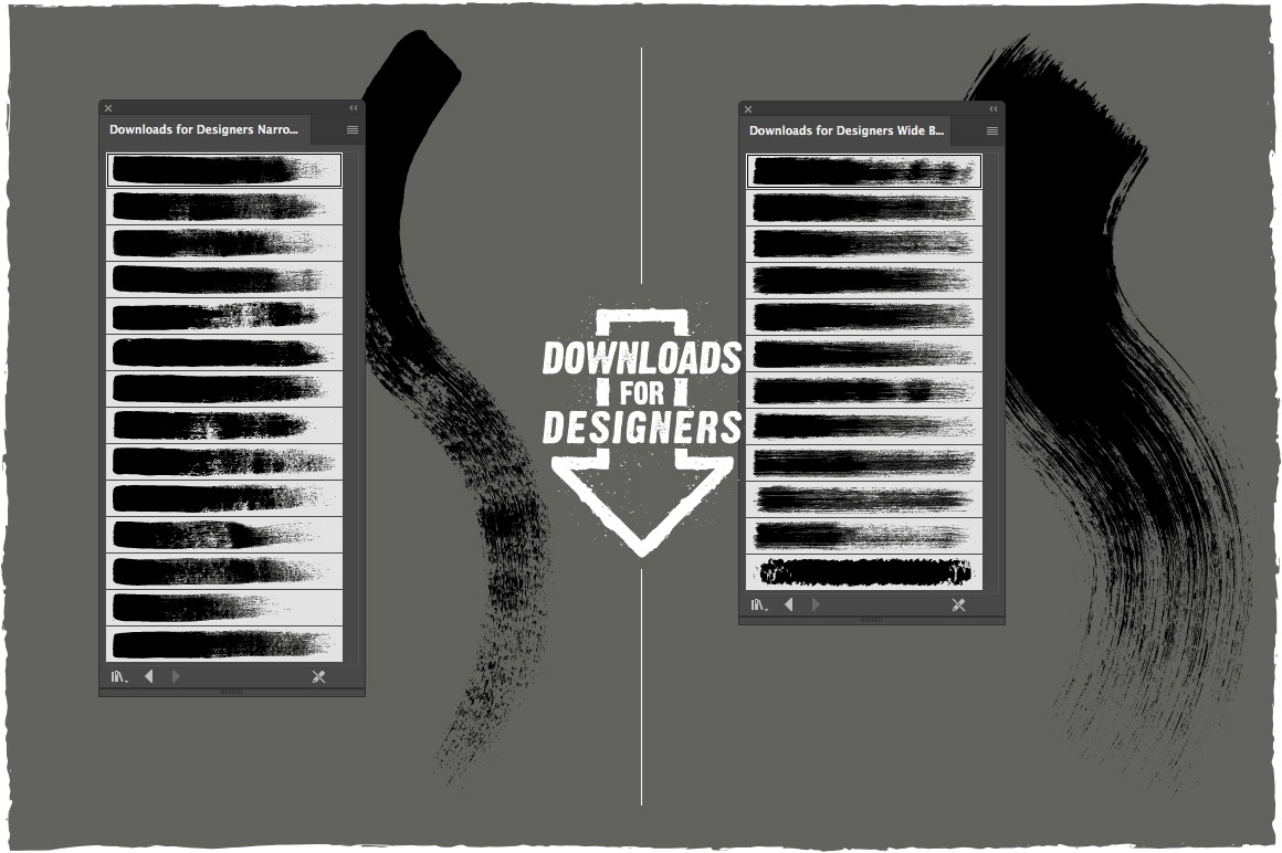 Strokes and Streaks – Vector Pack