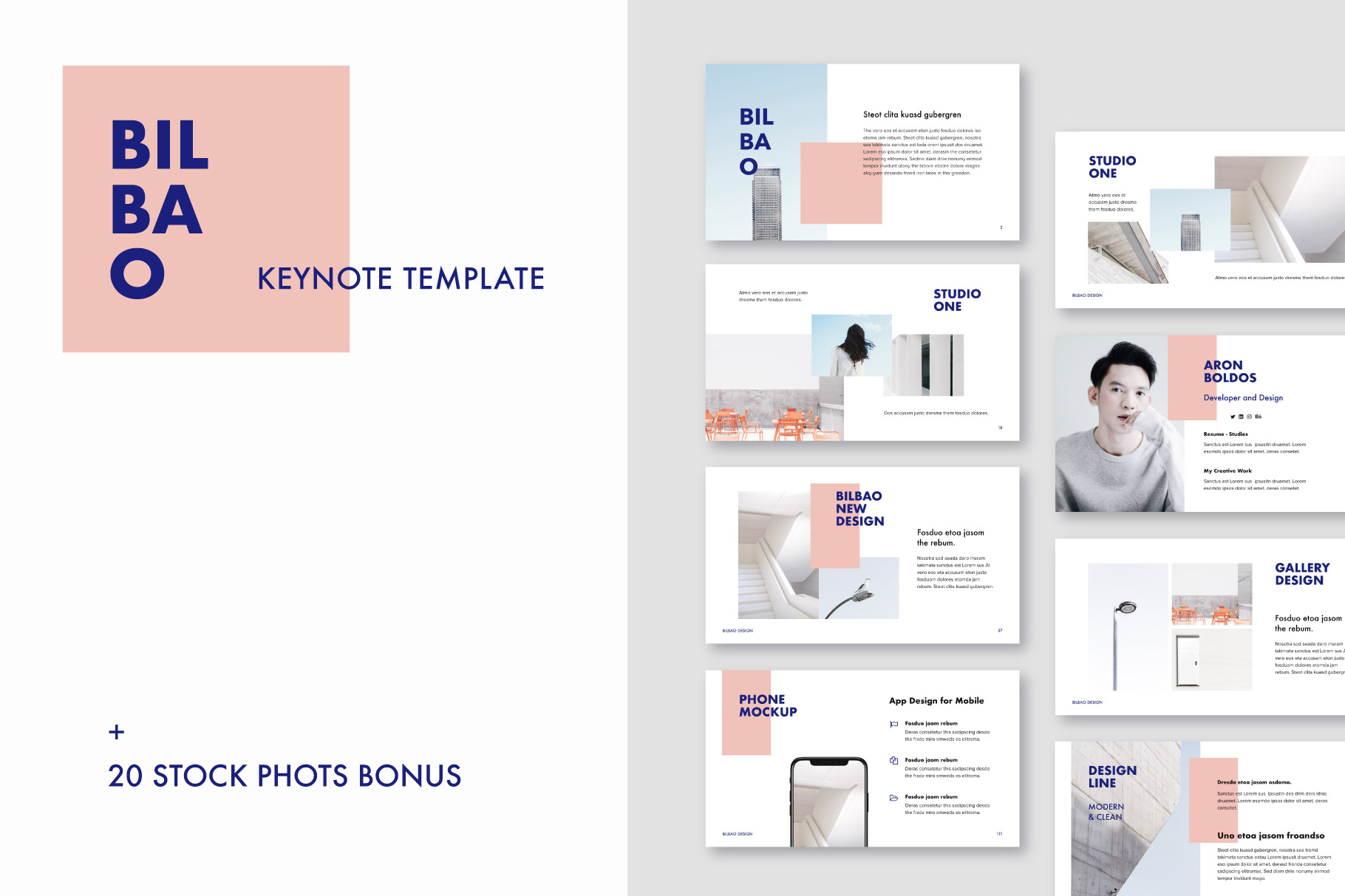 18 Templates + 60 Photos Bonus