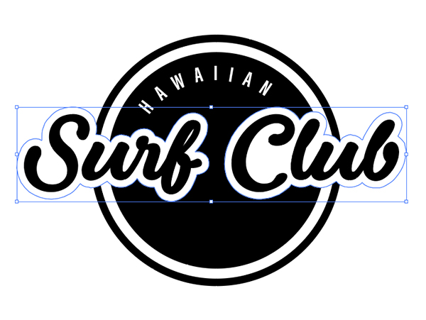 Hawaiian Surf Club Brand Design