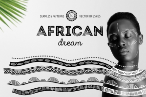 African-Dream-Patterns and-Brushes-cover