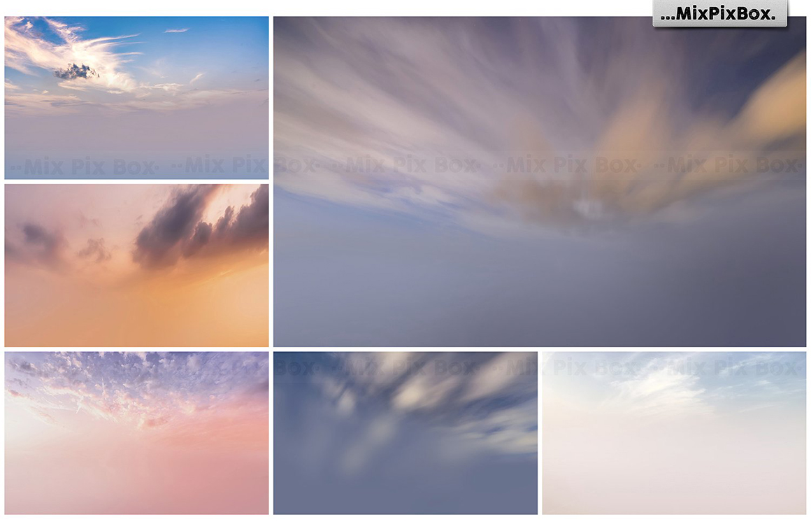 Dramatic Sky Overlays