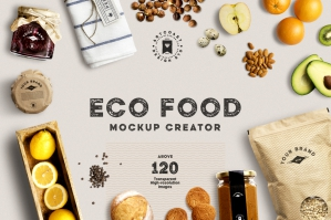 Eco Food Mockup Creator-cover