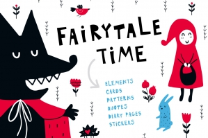 Fairytale-Time-Clipart-Collection-cover