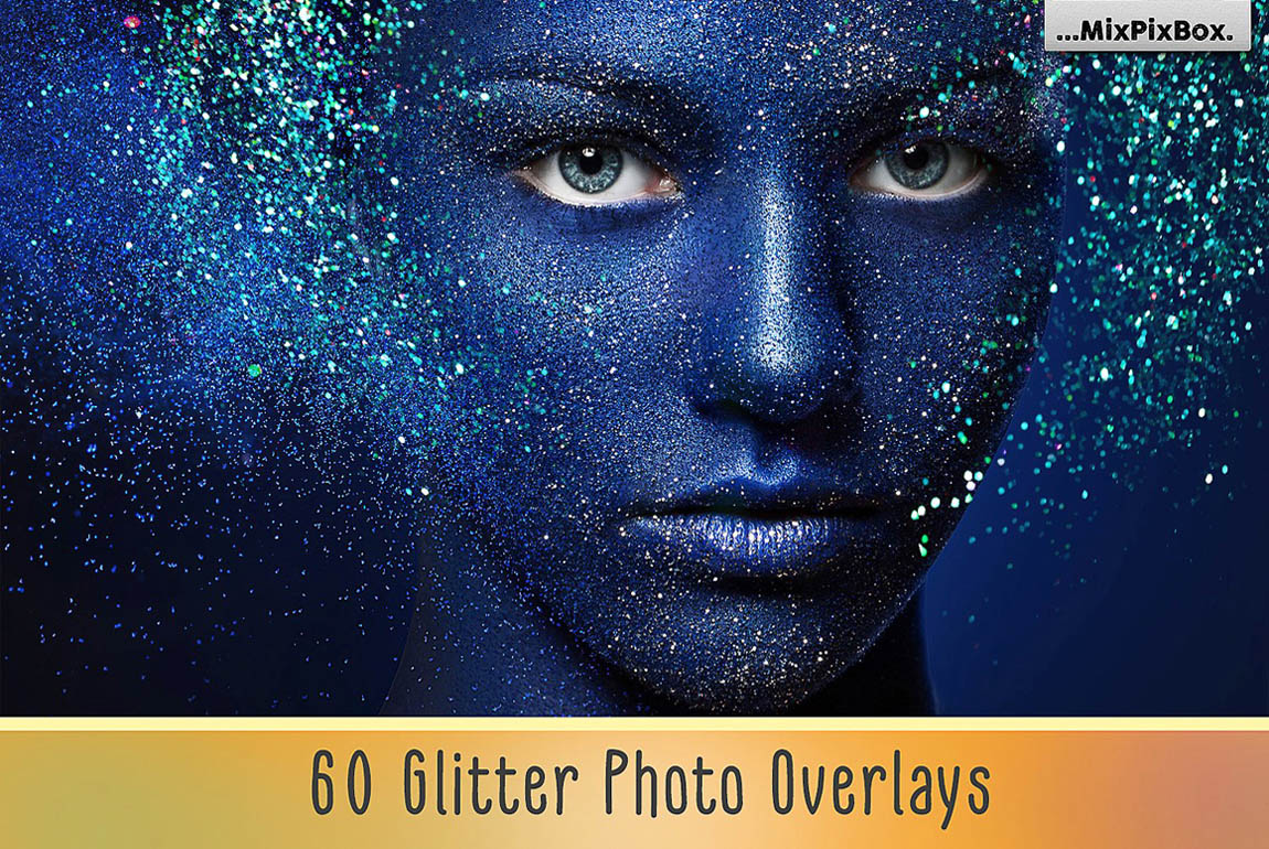 Glitter Photo Overlays