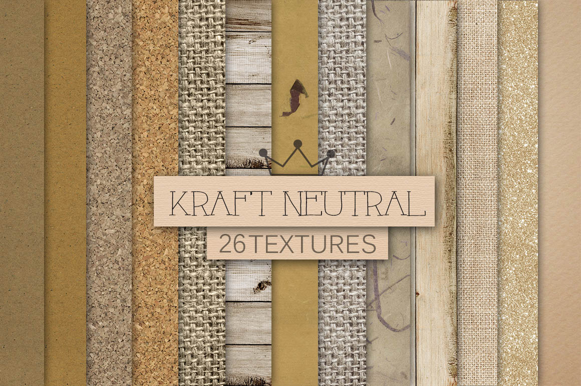 Kraft Neutral Textures Pack