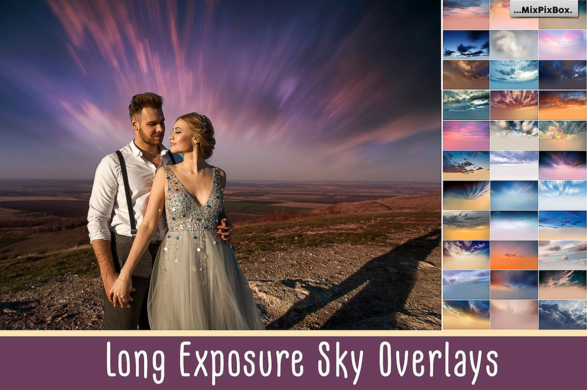 Long Exposure Sky Overlays