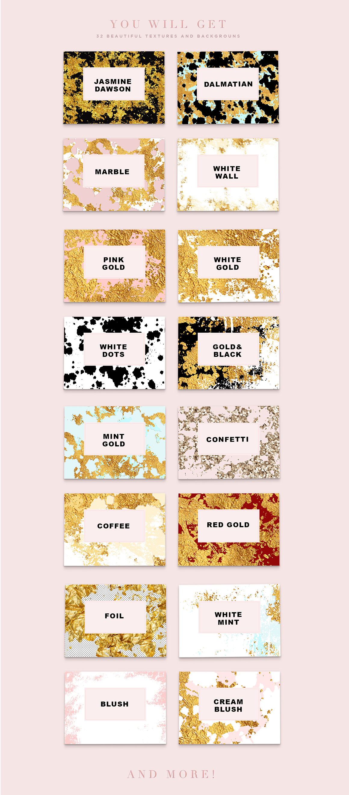 Luxury Marble & Gold Textures