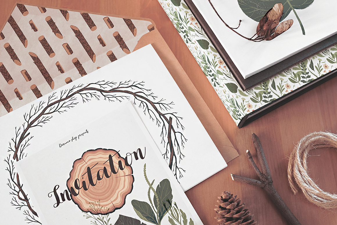 Natura Graphic Elements Pack