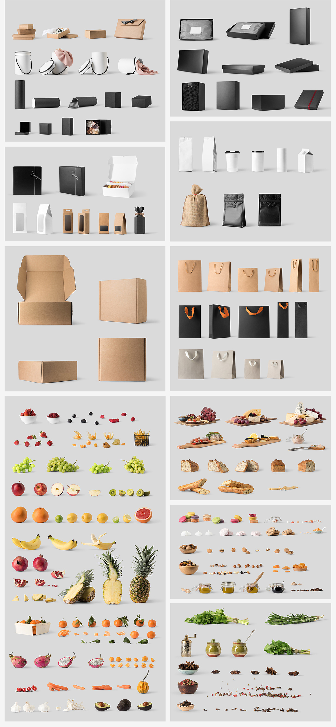 Packaging Mockup Collection