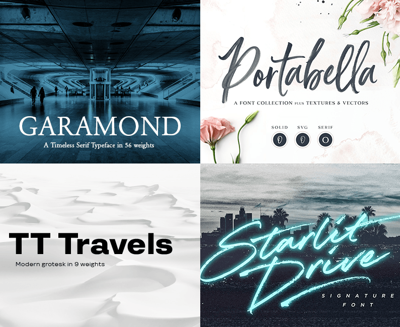 The Supreme Quality Font Bundle - Design Cuts