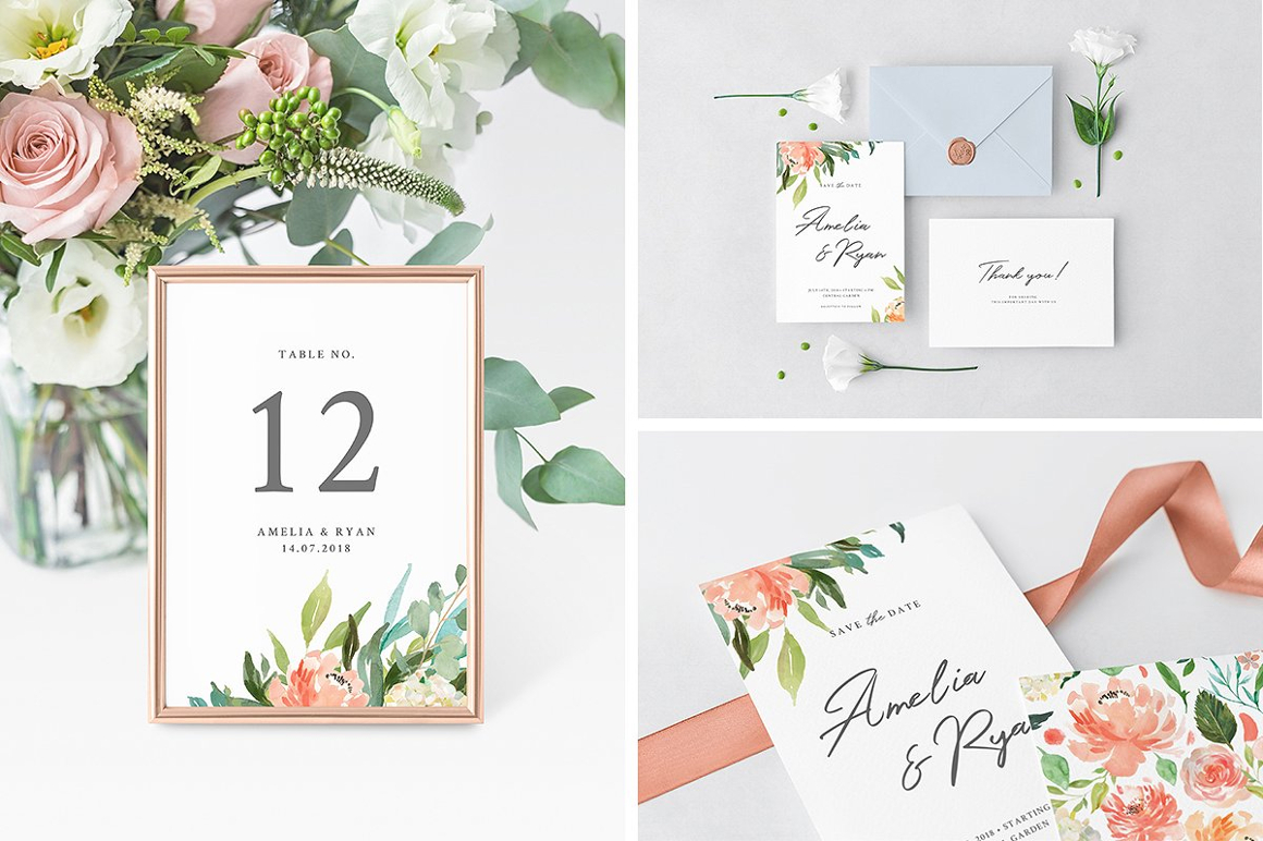 Wedding Day Mockups Collection