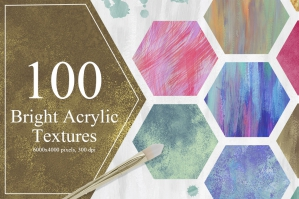 100-Bright-Acrylic-Textures-cover