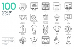 100-Seo-Line-Icons-cover